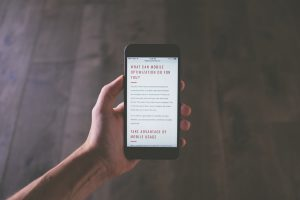 The Importance of Having a Mobile-Optimized Website